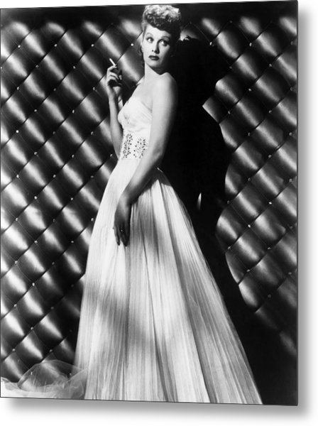 Lucille Ball, Ca. 1950s Metal Print