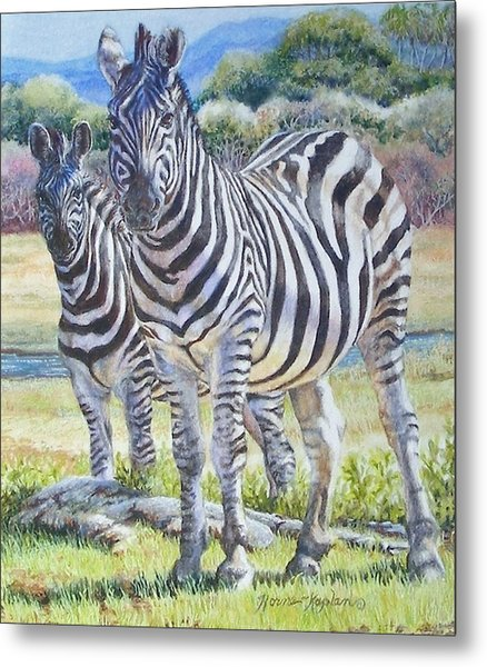 Lucky Stripes Metal Print
