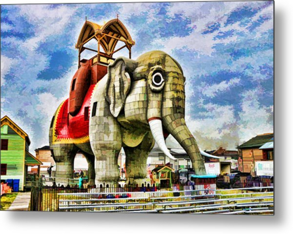 Lucy The Elephant 2 Metal Print