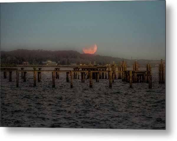 Lunar Eclispe  Metal Print