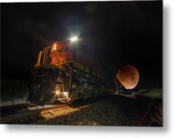 Lunar Express  Metal Print