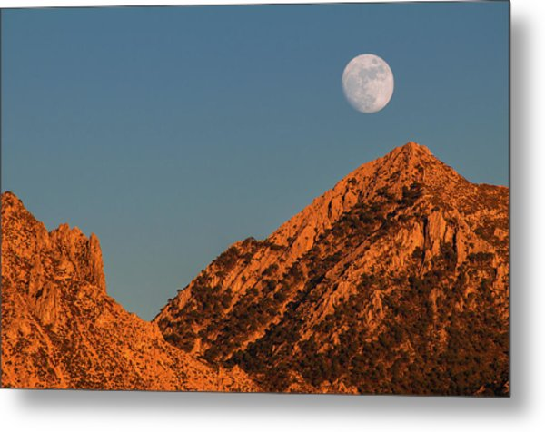 Lunar Sunset Metal Print