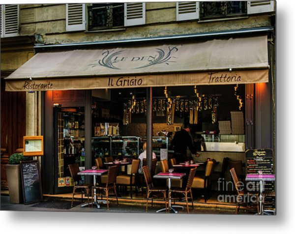 Lunch In Paris Metal Print