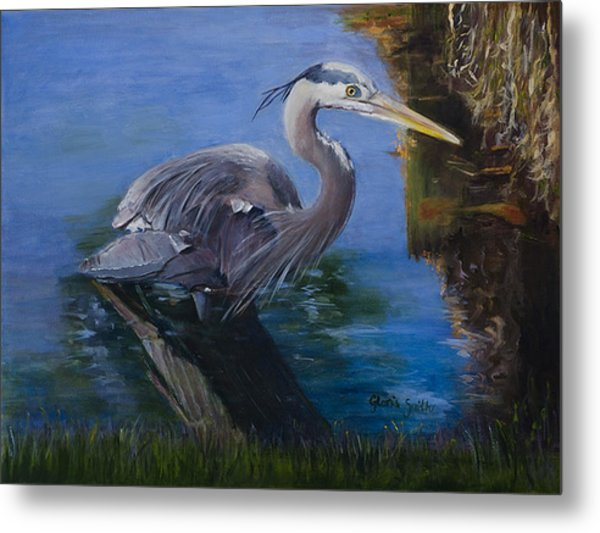 Lunch Time Metal Print by Gloria Smith