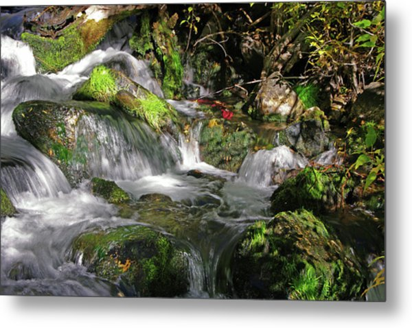Lundy Creek 3 Metal Print