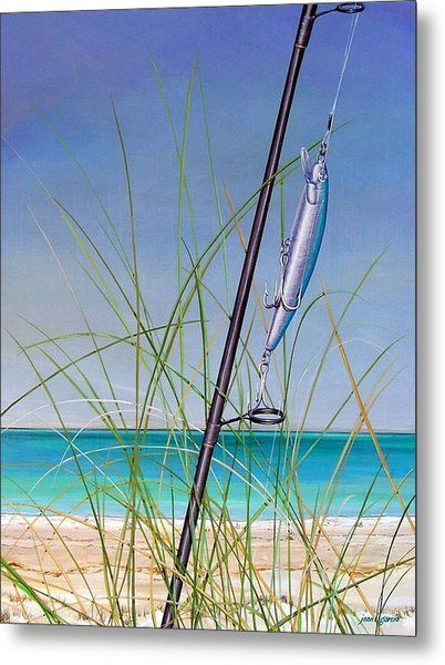Lure Of The Island Metal Print