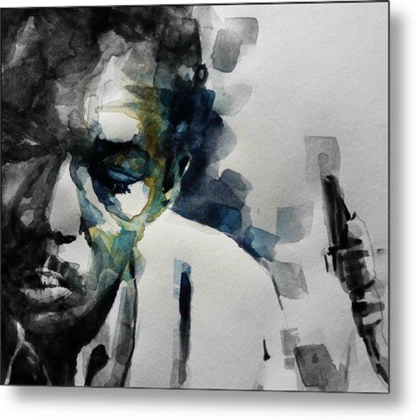 Lush Life  John Coltrane  Metal Print