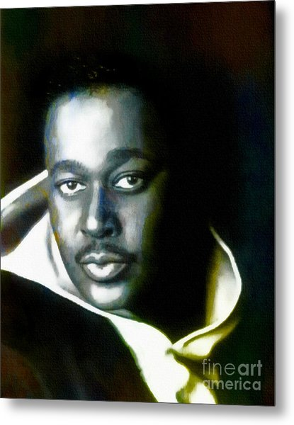Luther Vandross - Singer  Metal Print