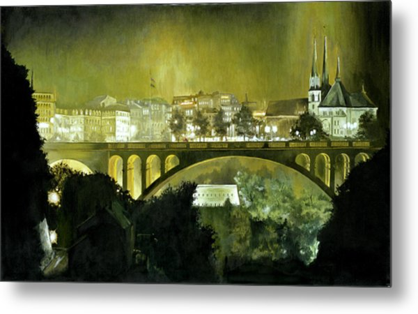 Luxembourg Metal Print