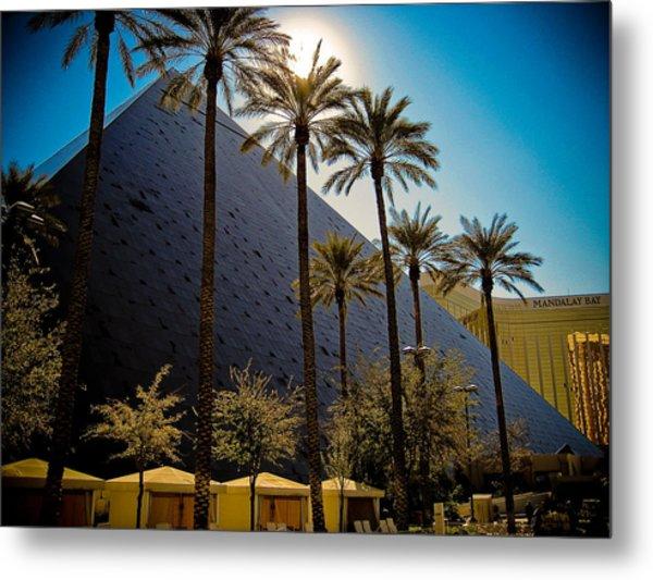 Luxor Las Vegas Metal Print by Patrick  Flynn