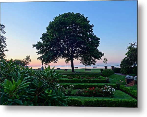 Lynch Park At Dawn Beverly Ma Metal Print