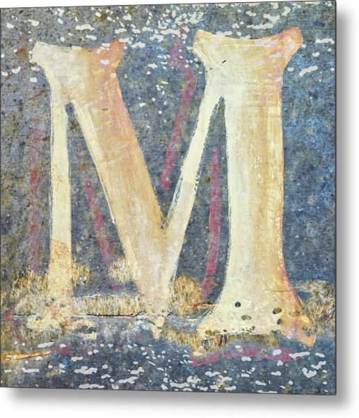 M Is For Monet Metal Print