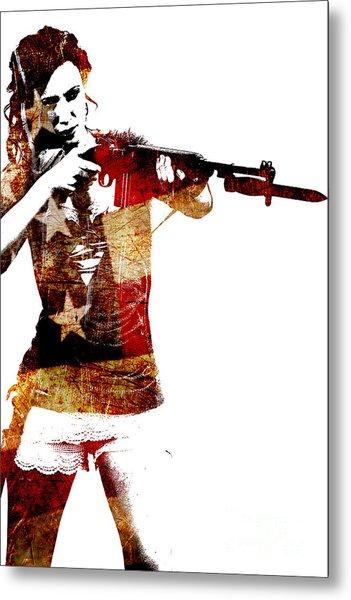 M1 Carbine And Bayonet Metal Print