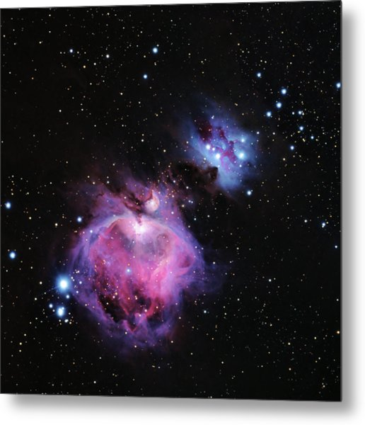 M42--the Great Nebula In Orion Metal Print