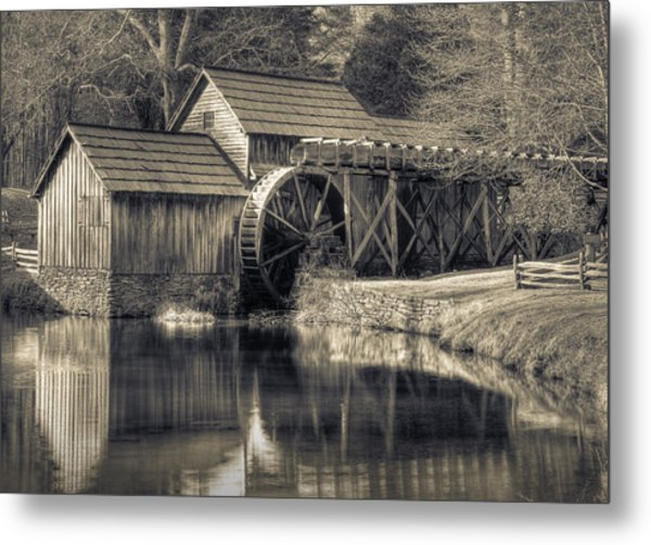 Mabry Mill Metal Print by Harry H Hicklin