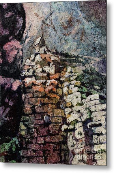 Machu Picchu Ruins- Peru Metal Print