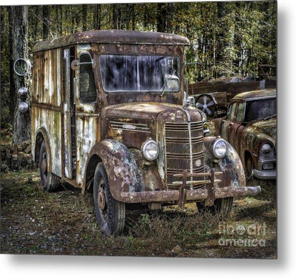 Very Old Mack Truck Metal Print