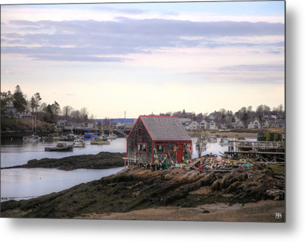 Mackerel Cove Metal Print