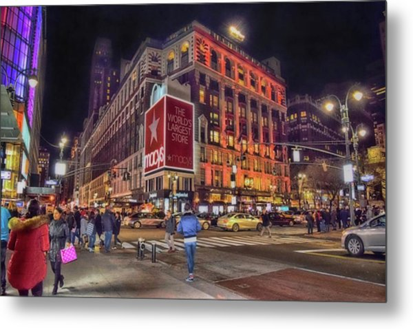 Macy's Of New York Metal Print