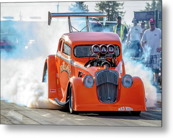 Mad Mike Racing Metal Print
