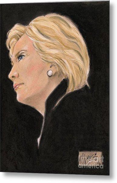 Madame President Metal Print