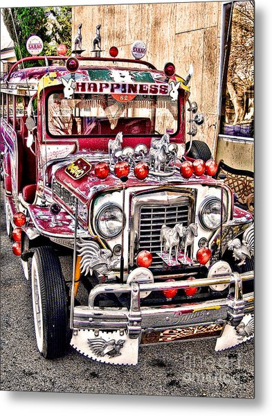 Made In The Philippines Metal Print