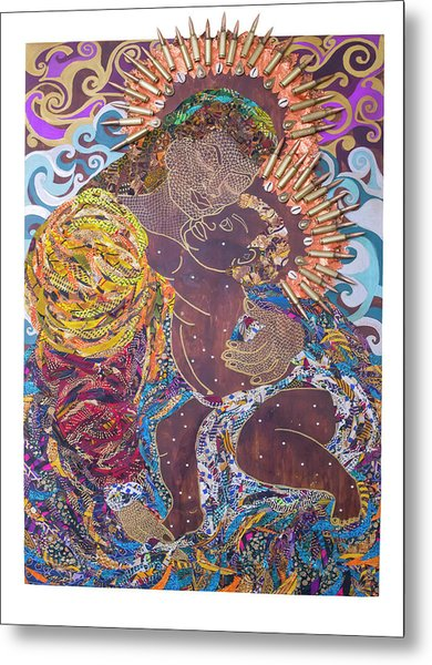 Madonna And Child The Sacred And Profane Metal Print