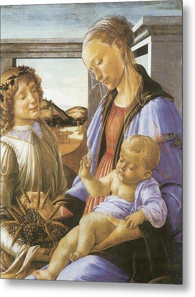 Madonna Of The Eucharist Metal Print by Sandro Botticelli