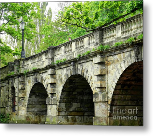 Magdalen's Ancient Bridge Metal Print