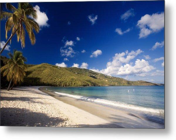Magens Bay Morning St Thomas Us Virgin Islands Metal Print by George Oze
