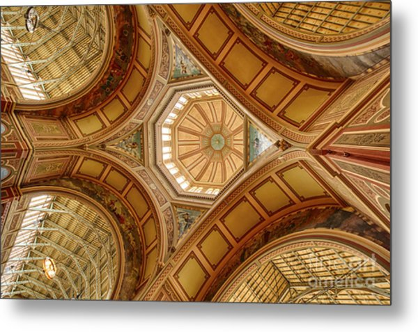 Magestic Architecture II Metal Print
