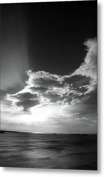 Magheracross Sunset Metal Print