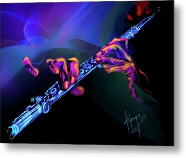 Magic Flute Metal Print