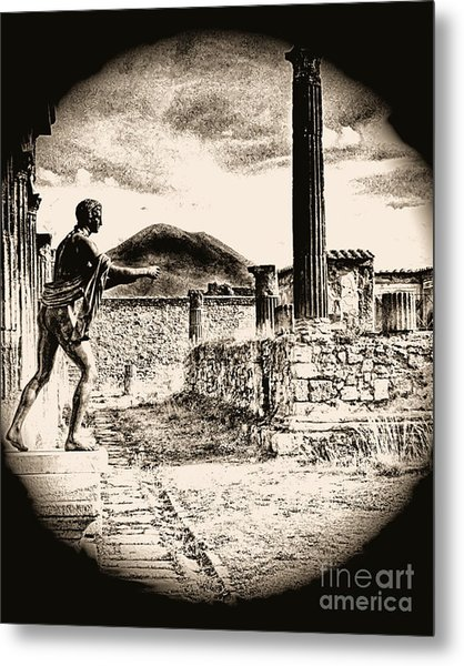 Magic Lantern Pompeii Metal Print