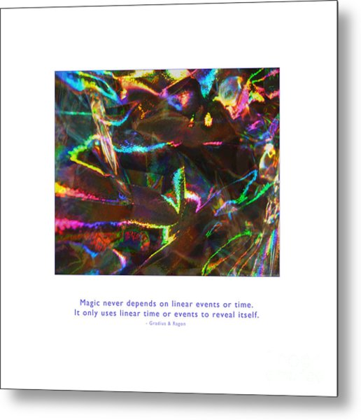 Metal Print featuring the photograph Magic Reveals Itself by Kristen Fox