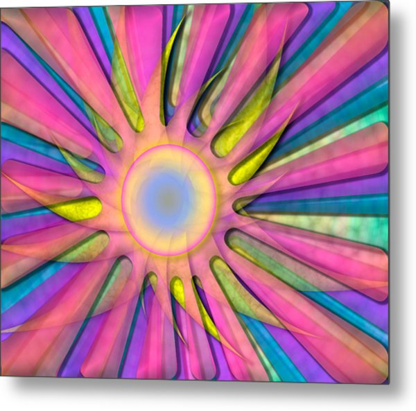 Magic Sun Metal Print