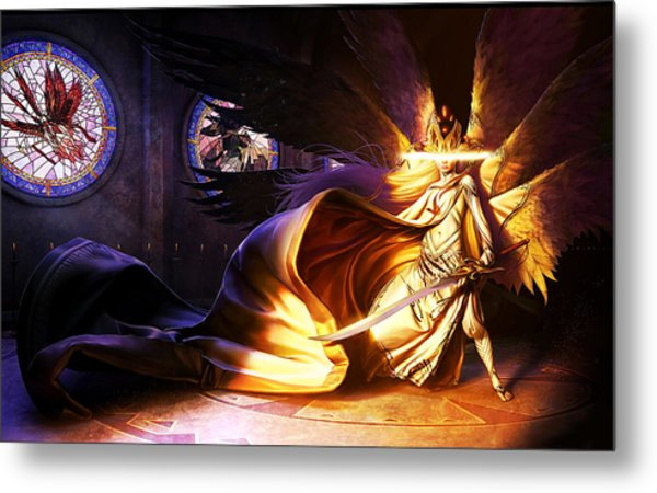Magic The Gathering Metal Print