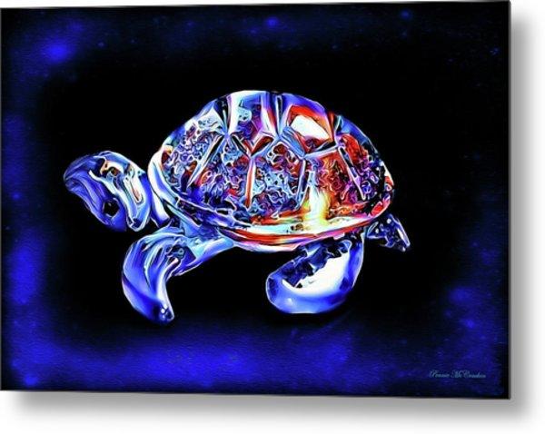Magic Turtle Metal Print