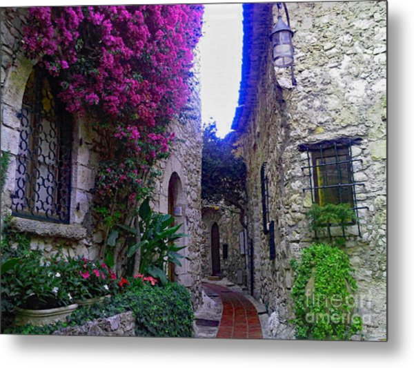 Magical Beauty In Eze France Metal Print