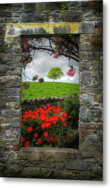 Metal Print featuring the photograph Magical County Clare Countryside by James Truett