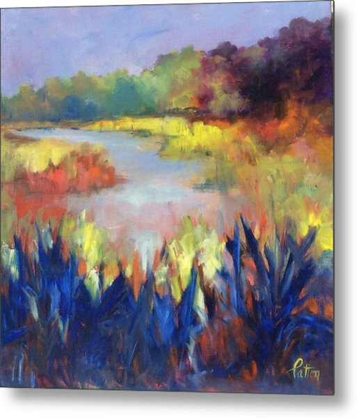Magical Marsh Metal Print