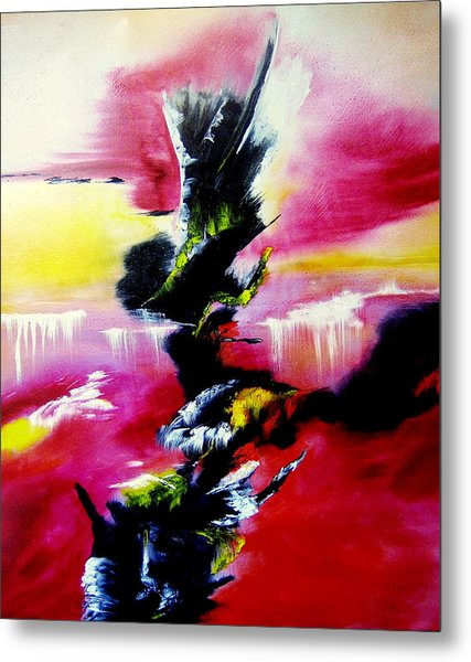 Magical Waterfalls Metal Print