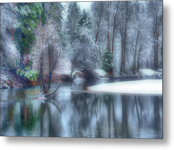 Magical Touch To Yosemite Metal Print