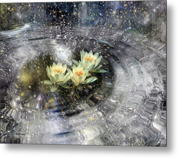 Magick Ripples Metal Print