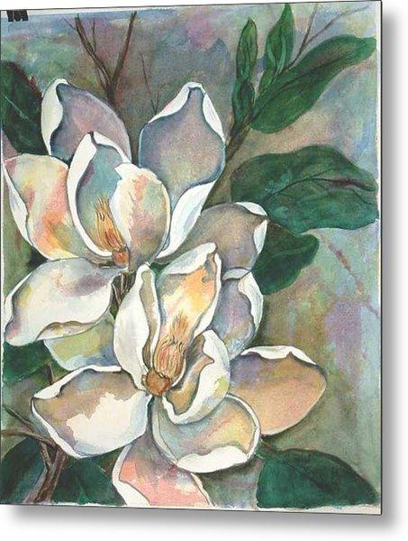 Magnolia Four Metal Print