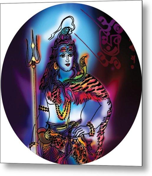 Maheshvara Shiva Metal Print