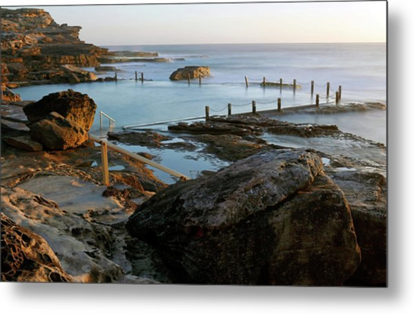 Mahon Pool Metal Print