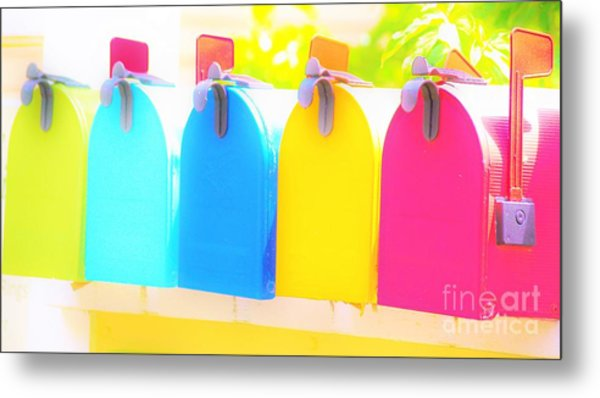 Mail For You Metal Print