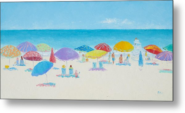Main Beach East Hampton  Metal Print