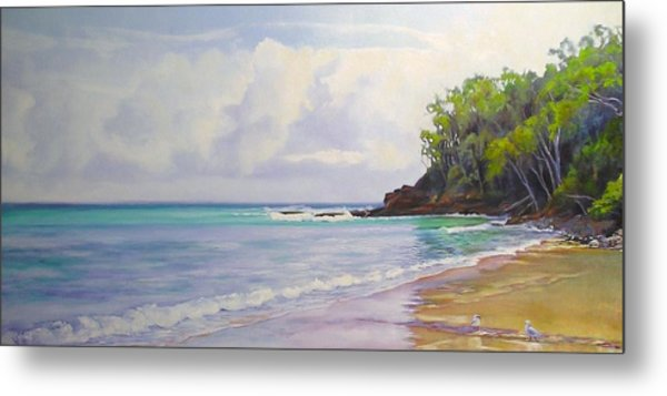 Main Beach Noosa Heads Queensland Australia Metal Print